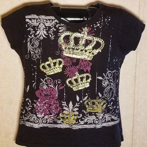 Austin Clothing Co. Size XL Womens Crown T-Shirt